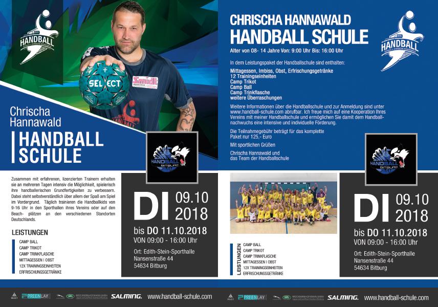 Bitburger Handballer 2018